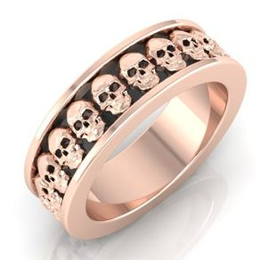 Skull Rings Skull Engagement Rings Skull Wedding Bands