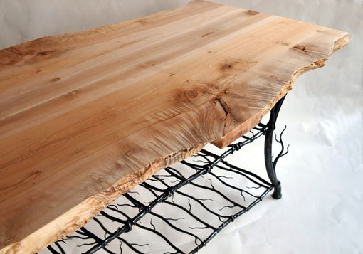 Custom Made Maple Slab Kitchen Island