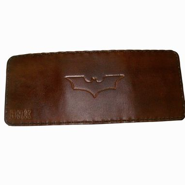 Custom Made Multi-Compartment Leather Tri-Fold Wallet