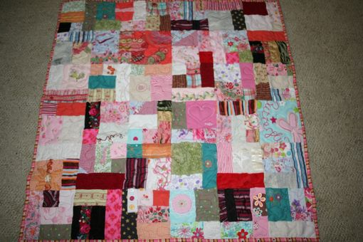 Custom Made Memory Quilt Made From Clothing