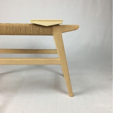 Custom Made Paper Cord Bench