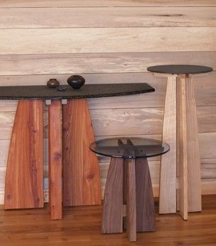 Custom Made Meridian Round Dining Table