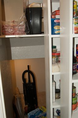 Custom Made Secret Space Kitchen Pantry