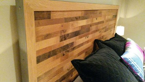 Custom Made Wine Barrel Bed Set