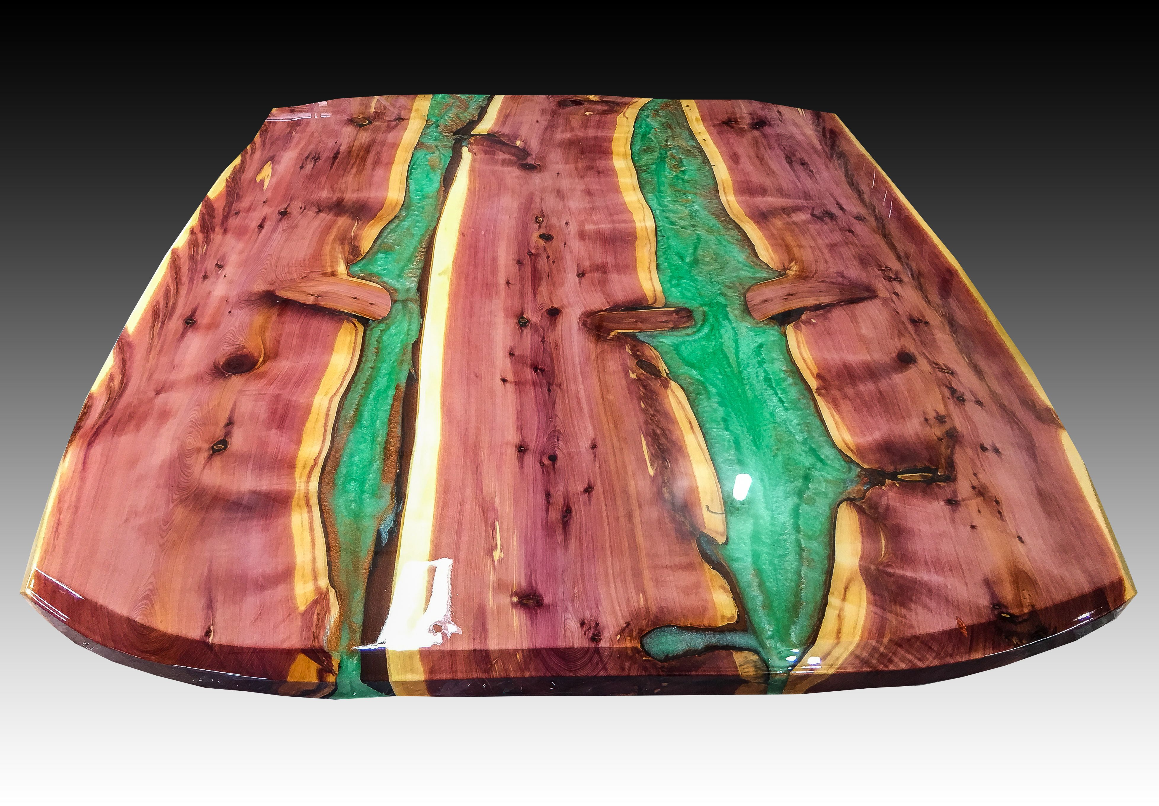 Hand Crafted River Dining Table By Crookedwood Custommade Com