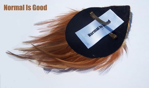 Custom Made Feather Pad Hair Accessory