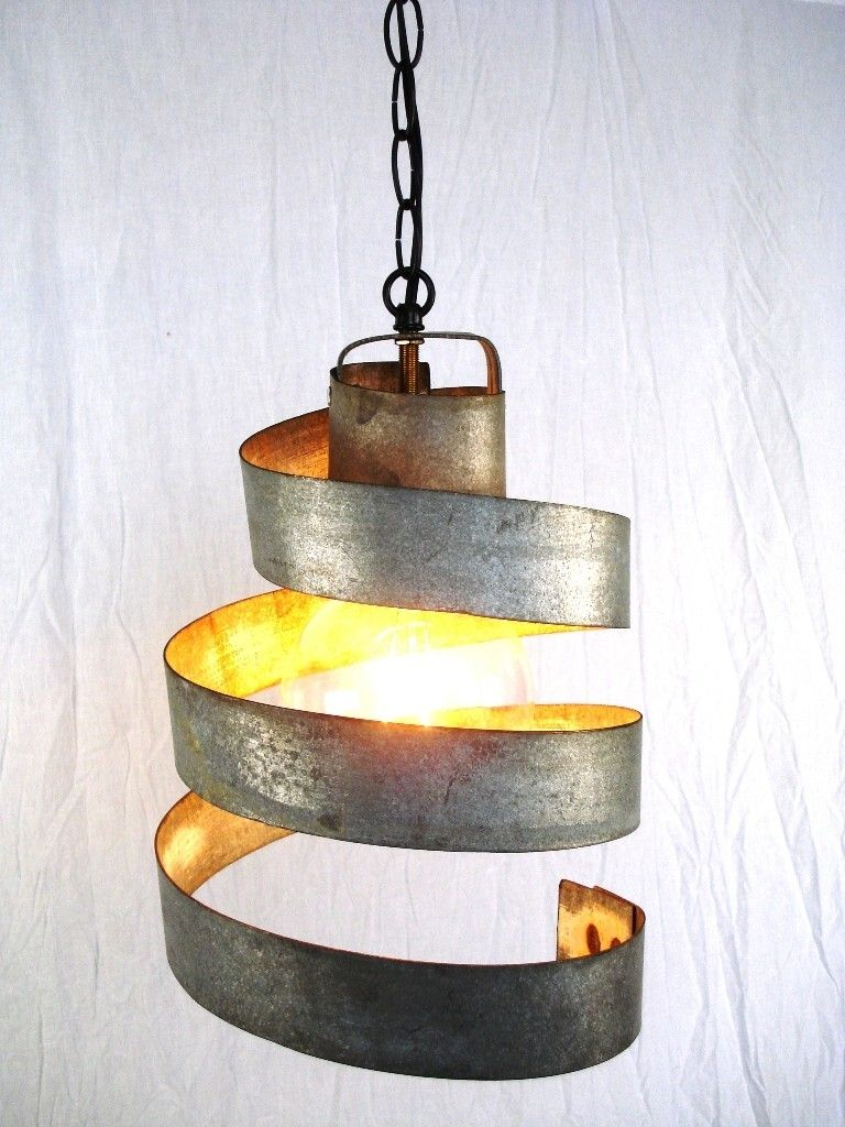 Custom ceiling fixtures custommade corba lavaliere barrel ring pendant light by michael weiss arubaitofo Image collections