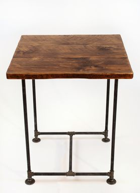 Custom Made Industrial Pipe Table