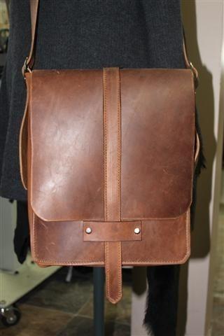 Custom Made Leather Messenger 32b3cdff2d050