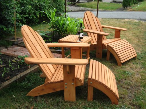 Custom Made Adirondack Patio Set