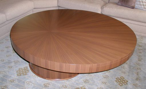 Custom Made Offset Coffee Table