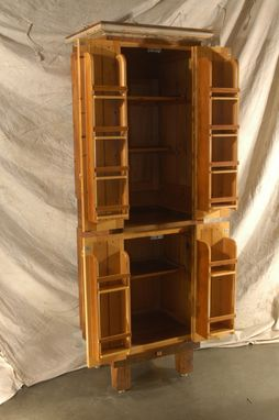 Custom Made Salvaged Fir Pantry