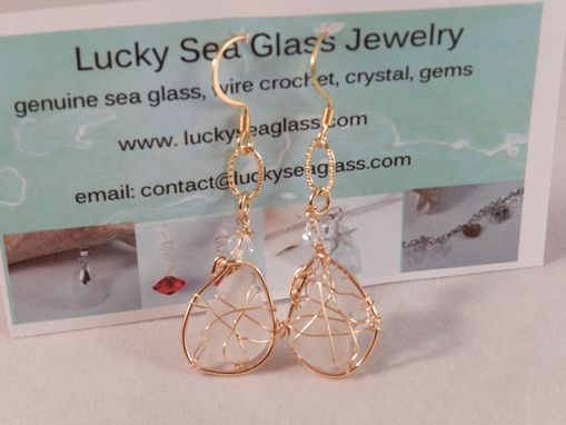 Custom Made Sea Glass Earrings