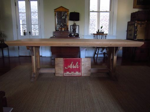Custom Made Gothic Trestle Table