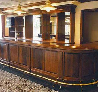Custom Made Traditional Bar