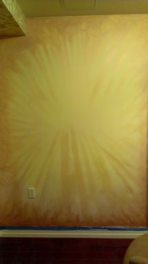Custom Made Yoga Studio Commission And Sunflower