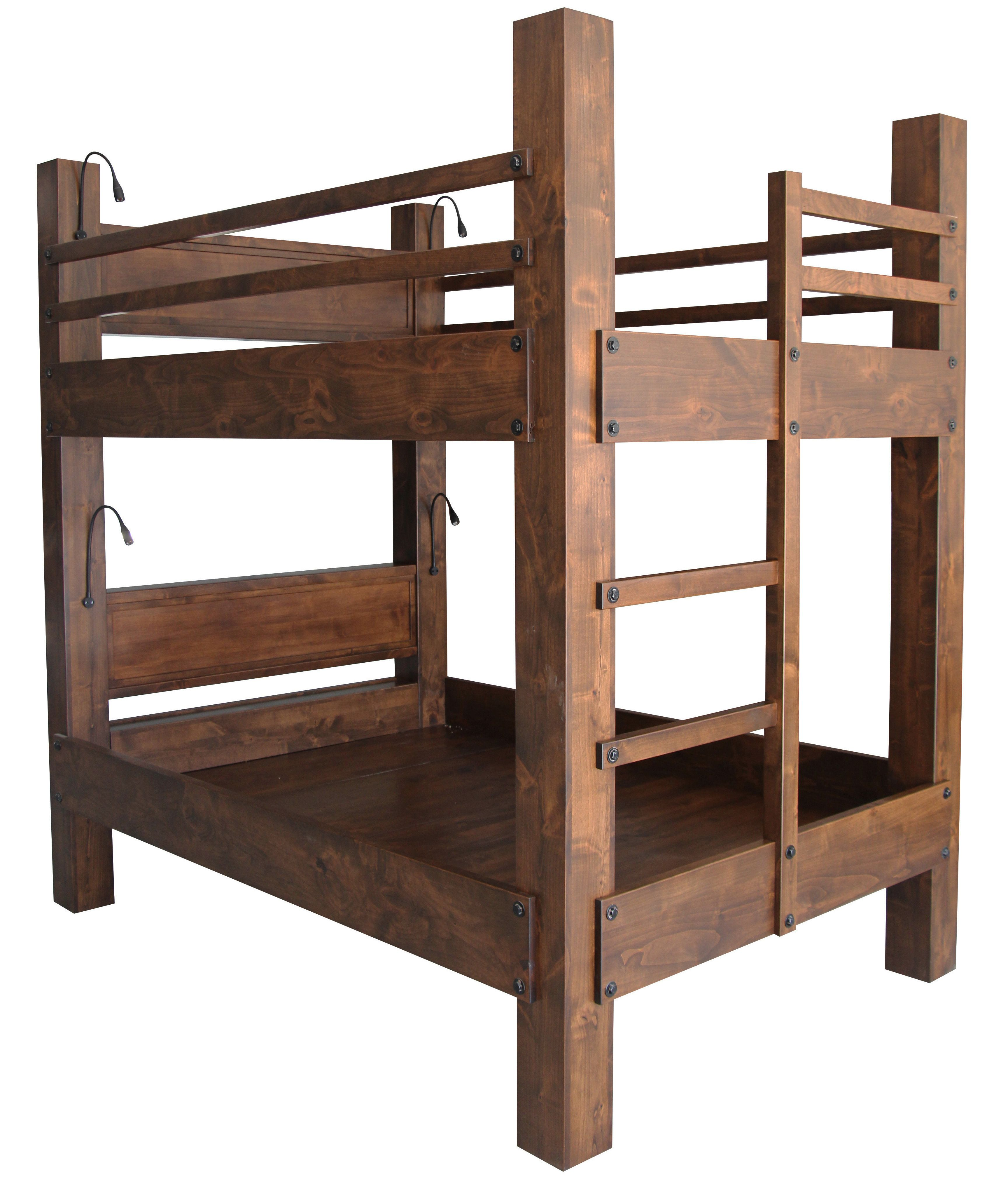 Buy a Custom Made Queen Over Queen Bunk Bed, made to order ...