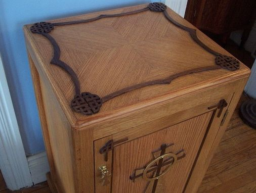 Custom Made Celtic Cabinet
