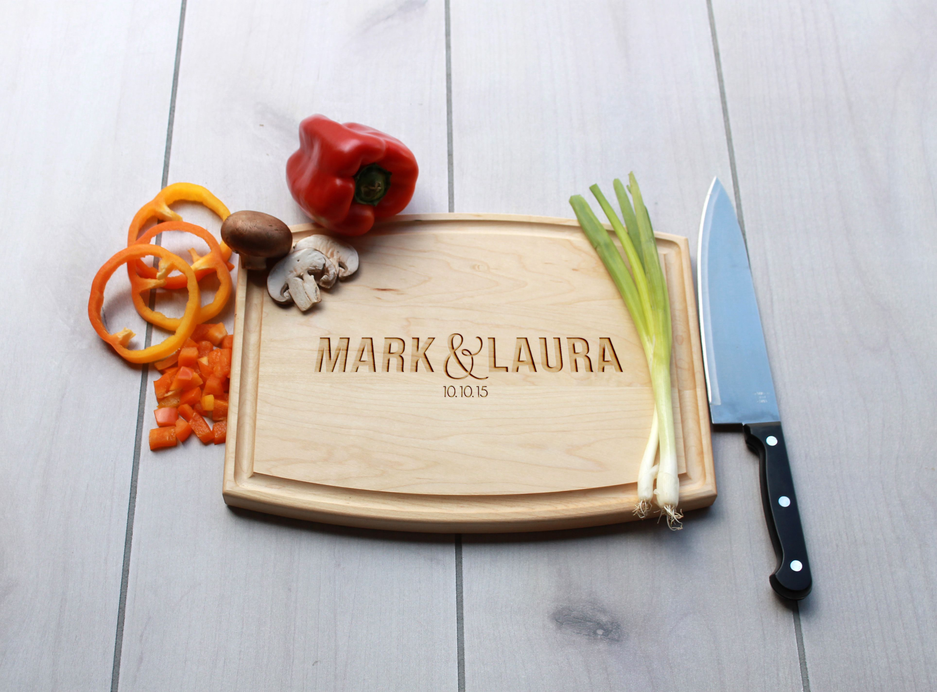 Buy Hand Made Personalized Cutting Board Engraved Cutting Board Custom Wedding Gift Cba Map Marklaura Made To Order From Etchey Custommade Com