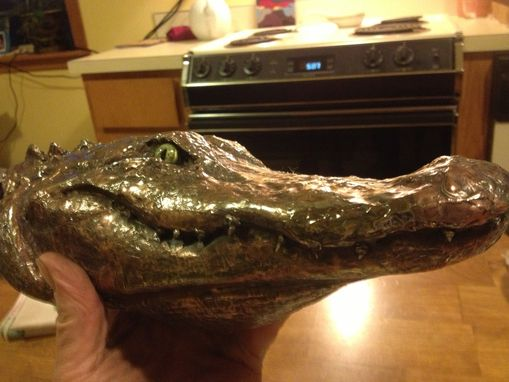Custom Made Alligator Head