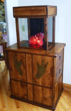 Custom Made Chihuly Display Case