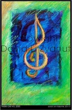 Custom Made Music Notation Paintings