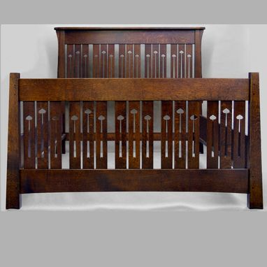 Custom Made Mackintosh Keyhole Queen Bed