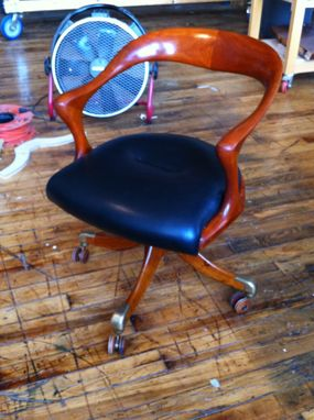 Custom Made (Repair) Cherry Base For Marlowe Ceccotti Office Chair
