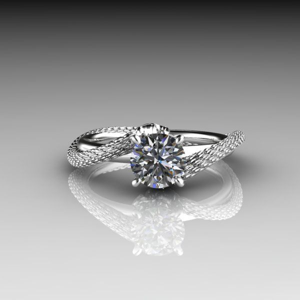Dragon Engagement Ring