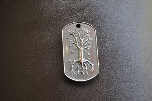 Custom Made Tree Of Life Dogtag Medalion