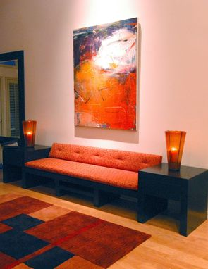 Custom Made Contemporary Furniture With Coffee Stain