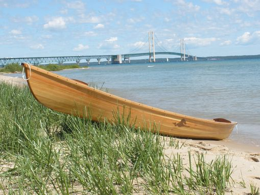 Custom Made Pere Marquette Fl, Cedar Strip Canoe
