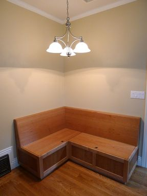 Custom Made Cherry Banquette