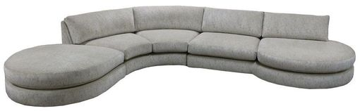 Custom Made Residential Curved Bumper Sectional