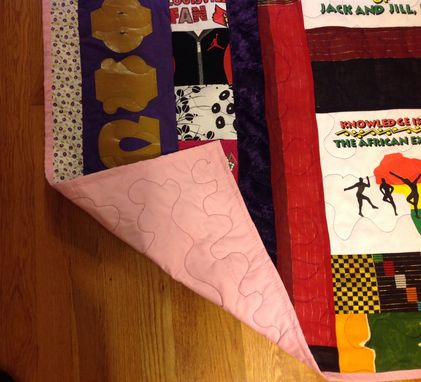 Custom Made Custom Family Culture Keepsake Baby Quilt/Wall Hanging