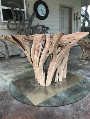 Custom Made Tree Stump Dining Table