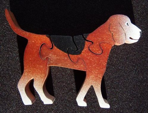 Custom Made Dog Wooden Jigsaw Puzzles