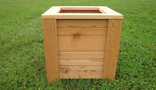 Custom Made Cedar Planter
