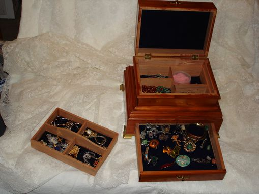 Custom Made Cedar Jewelry Box