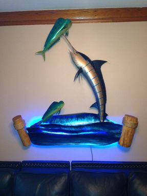 Custom Made Metal Sculpture Fish