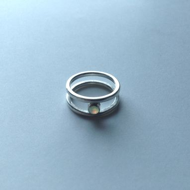Custom Made Minimalist Opal Ring - Limited Edition Of 12