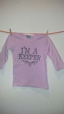 Custom Made Sale Harry Potter Inspired I'M A Keeper And Golden Snitch Longsleeve Shirt