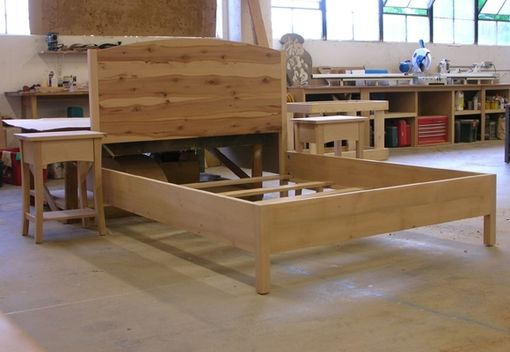 Custom Made Madrone Bed