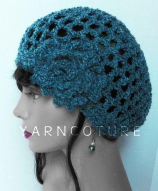 c6ac9c2062876 Custom Made The Lace Cloche Beanie Crochet Hat W  Crochet Flower