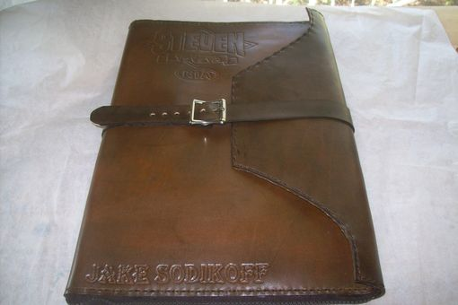Custom Made Jakes Leather Portfolio Legal Size