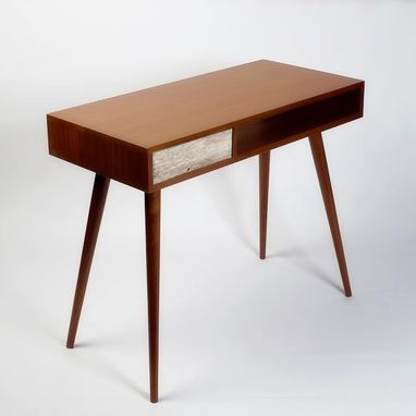 Custom Made Rustic Mid-Century Modern Desk