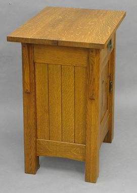 Custom Made Mackintosh Keyhole End Tables/Nightstands