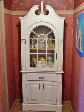 Custom Made Colonial Display Cabinet