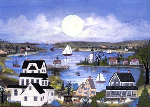 "Custom Made ""Buzzard's Bay"" - Limited Edition Giclee Print By J.L. Munro"
