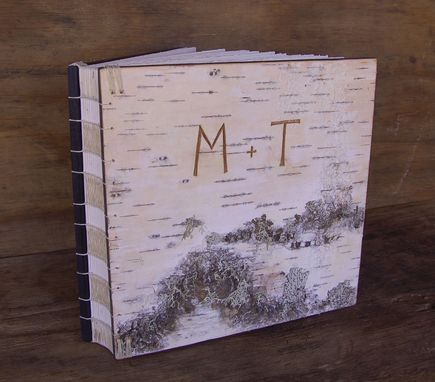 Custom Made Carved Birch Photo Album